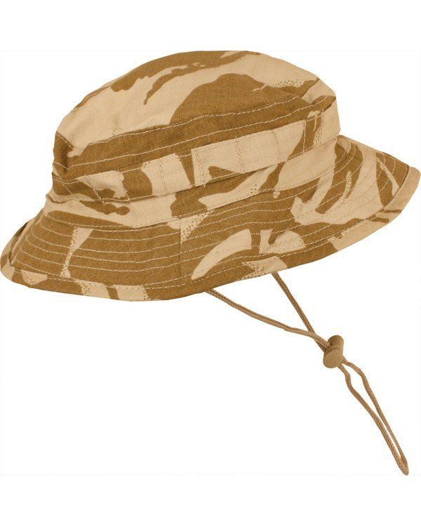 BRITISH SPECIAL FORCES BOONIE HAT - DESERT DPM - Airsoft Direct 2fbb42fbacb