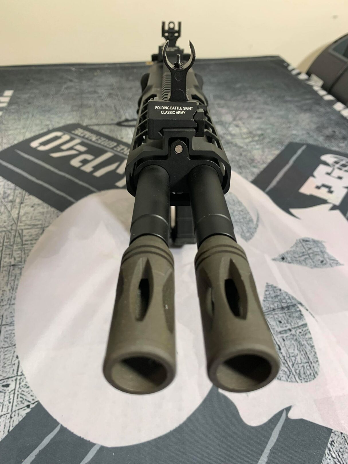 Image result for Classic Army Nemesis DT-4 Double Barrel M4