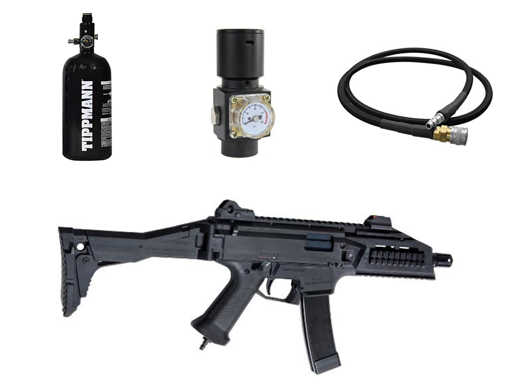 Asg Cz Scorpion Evo 3 A1 Hpa Edition Package Airsoft Direct